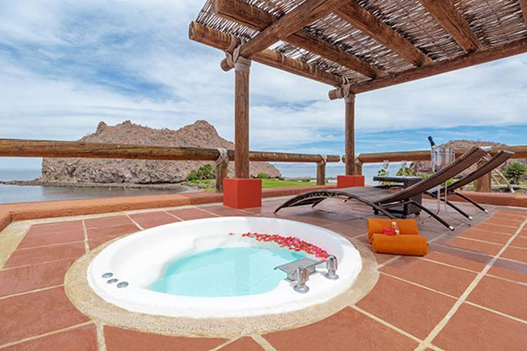 Master suite ocean front loreto bay golf resort & spa at baja hotel loreto, b.c.s.