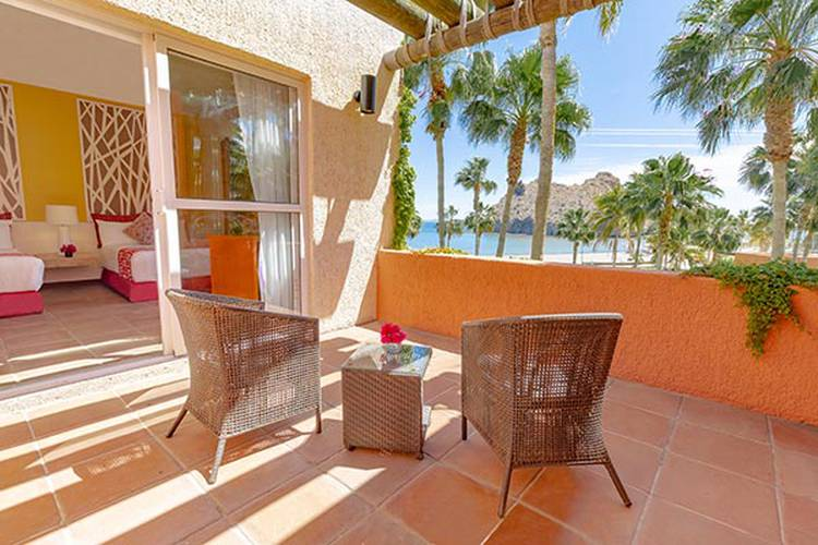 Junior suite ocean view loreto bay golf resort & spa at baja hotel loreto, b.c.s.
